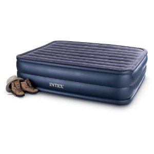 Intex Air Mattress Queen Airbed With Built In Electric Pump